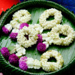 Flower garlands of thai style  — Stock Photo