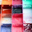 Palette of watercolor paints — Stock Photo #35038025