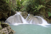Erawan waterfall — Foto Stock
