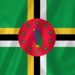 Постер, плакат: Dominica flag