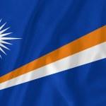 Bandeira da Ilhas Marshall — Foto Stock #39957405