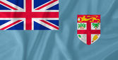 斐济国旗 — 图库照片