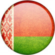 Stock Photo: Belarus button flag