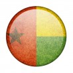Guinea-Bissau flag — Stock Photo