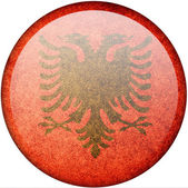 Albania flag — Stock Photo