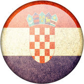 Croatia flag — Stock Photo