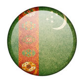 Turkmenistan flag — Stock Photo