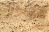 Excavated sand. — Stock Photo