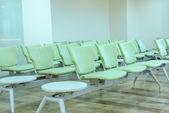 Empty waiting chair — Foto de Stock