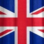 Great Britain flag — Stock Photo