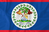 Belize flag — Stock Photo