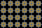 Blue and Yellow Overlapping Squares — Stock Photo