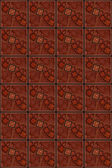 Seamless and Tileable Red Square Pattern Background — Stock Photo