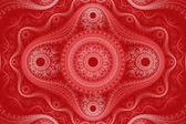 Red Fractal Background — Stock Photo