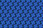Blue Background with Geometric Pattern — Stock Photo
