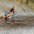 Royalty-Free Stock Photo: Water skiing in parker arizona