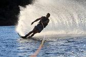 Waterskiing on Colrado River — Stock Photo