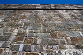 City wall In Quebec Canada — Stock Photo