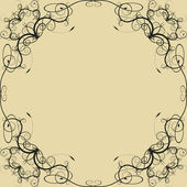Floral design ornament — Stockvector