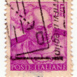 ITALY - CIRCA 1969: Italian old postage stamp circa 1968 — Stock Photo #14029678