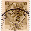 ITALY - CIRCA 1968: Italian old postage stamp circa 1968 — Stock Photo #14029762