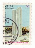 Kuba - Circa 1974: Kubánský staré poštovní známka asi 1974 — Stock fotografie