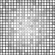Gray mosaic — Stock Vector