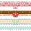 Lace ribbons — Stock Vector #28533559
