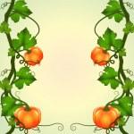 Frame of pumpkins — Stock Vector #32115453