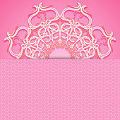 Cartão-de-rosa — Vetorial Stock