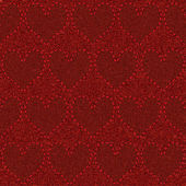Seamless red denim — Stockvector