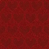 Sömlös röda denim — Stockvektor