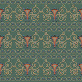 Seamless pattern reminiscent of ancient Rome. Styling. — Stock Vector