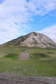 Památník, shikhan tra-tau. rusko, baškortostán. — Stock fotografie