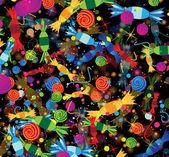 Bright festive background — Stock Vector
