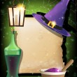 Постер, плакат: Halloween magic accessories