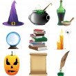 Stock Vector: Magic objects