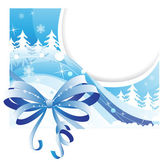 Winter card — Stock Vector