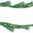 Christmas Tree branches — Stockvector #16629633