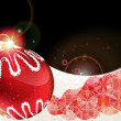 Royalty-Free Stock 矢量图片: Red Christmas bauble