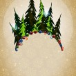 Royalty-Free Stock Vektorfiler: Winter Christmas forest