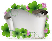 St. Patrick's Day invitation — Stock Vector