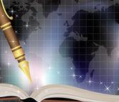 Dziennik podróżny — Wektor stockowy