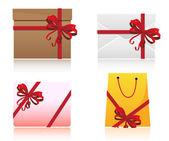 Gift Set — Stock Vector