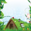 Fairy house — Stock Vector