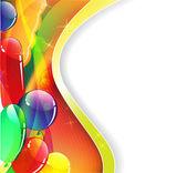 Sihirli balonlar — Stok Vektör