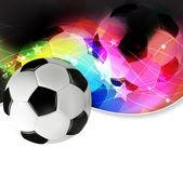 Piłka nożna streszczenie tło — Wektor stockowy