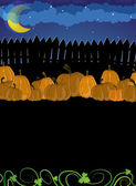 Pile of pumpkins — Stockvektor