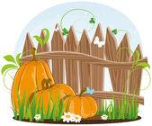 Autumn harvest — Stock Vector
