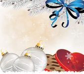 рождественский фон — Cтоковый вектор